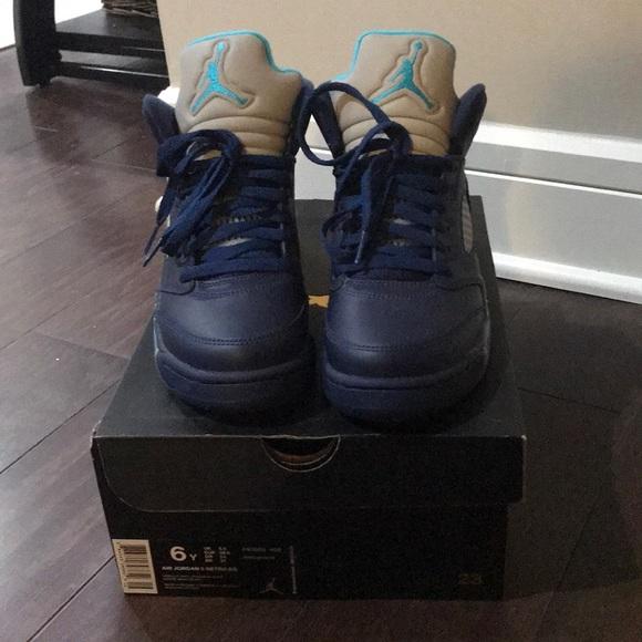 Nike Air Jordan 5 Size 6 Grade School